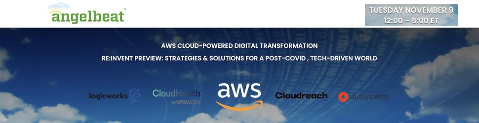Angelbeat: AWS Cloud-Powered Digital Transformation (Nov. 9th)