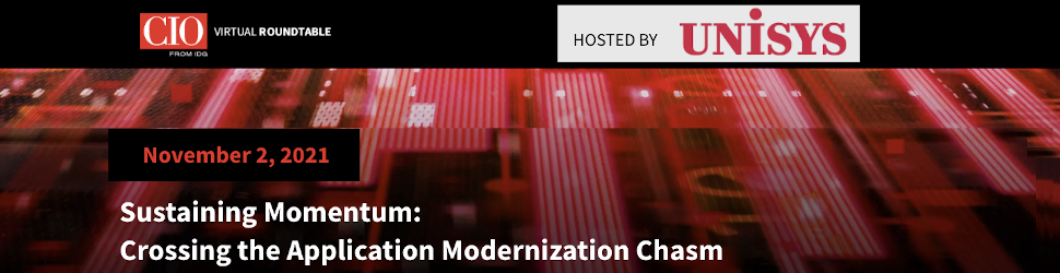 CIO: Sustaining Momentum: Crossing the Application Modernization Chasm (Nov. 2nd)