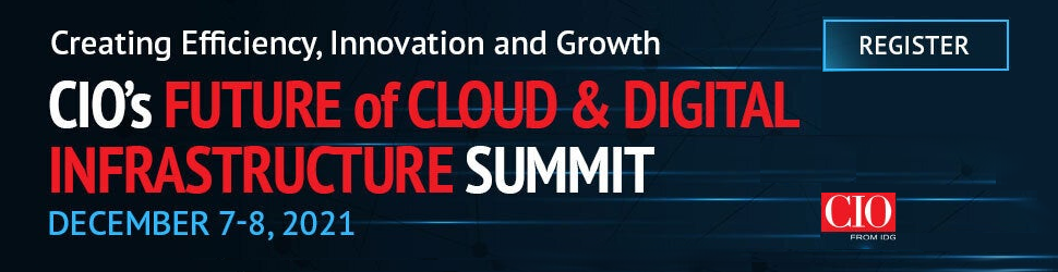 CIO's Future of Cloud and Digital Infrastructure Summit (Dec. 7th-8th)